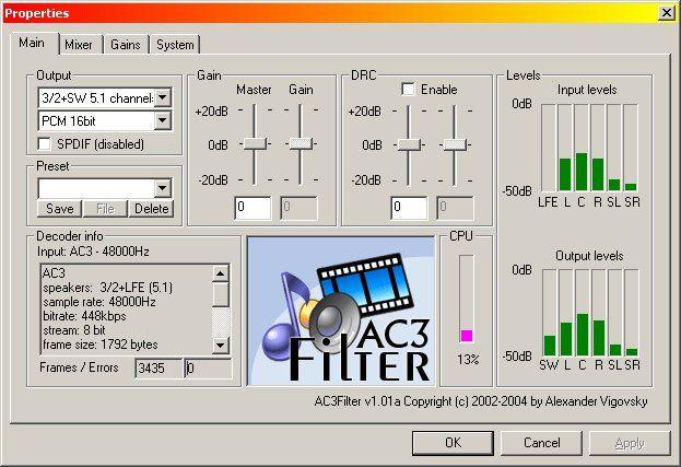 AC3Filter 2.6b