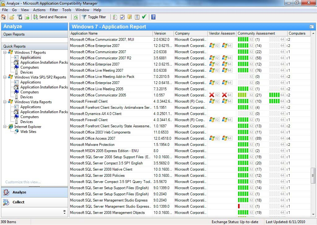 Application Compatibility Toolkit 5.6.7324.0