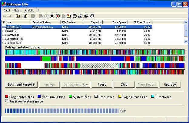 Diskeeper Lite 7.0 Build 418