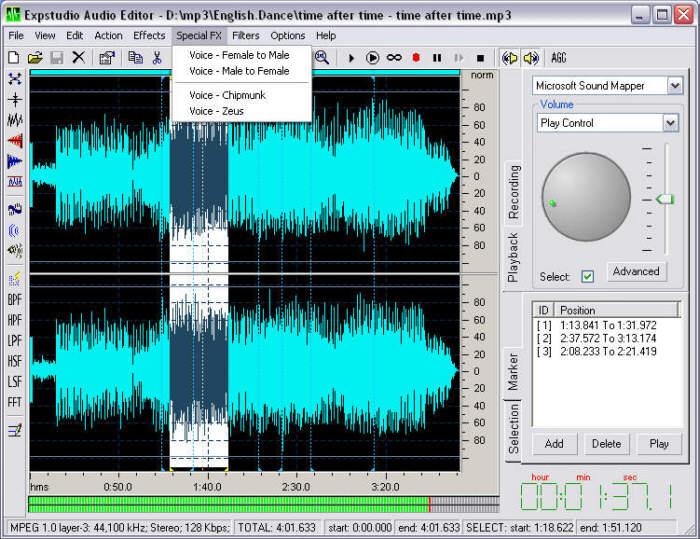 EXPStudio Audio Editor 4.31