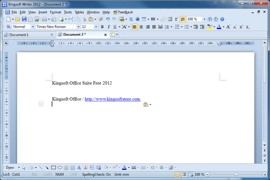 Kingsoft Writer Free 2015 9.1.0.4941
