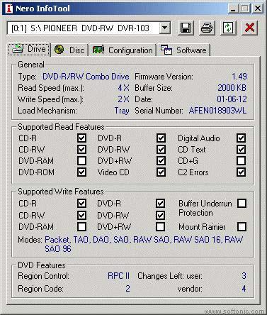 Nero InfoTool 5.3.3.0