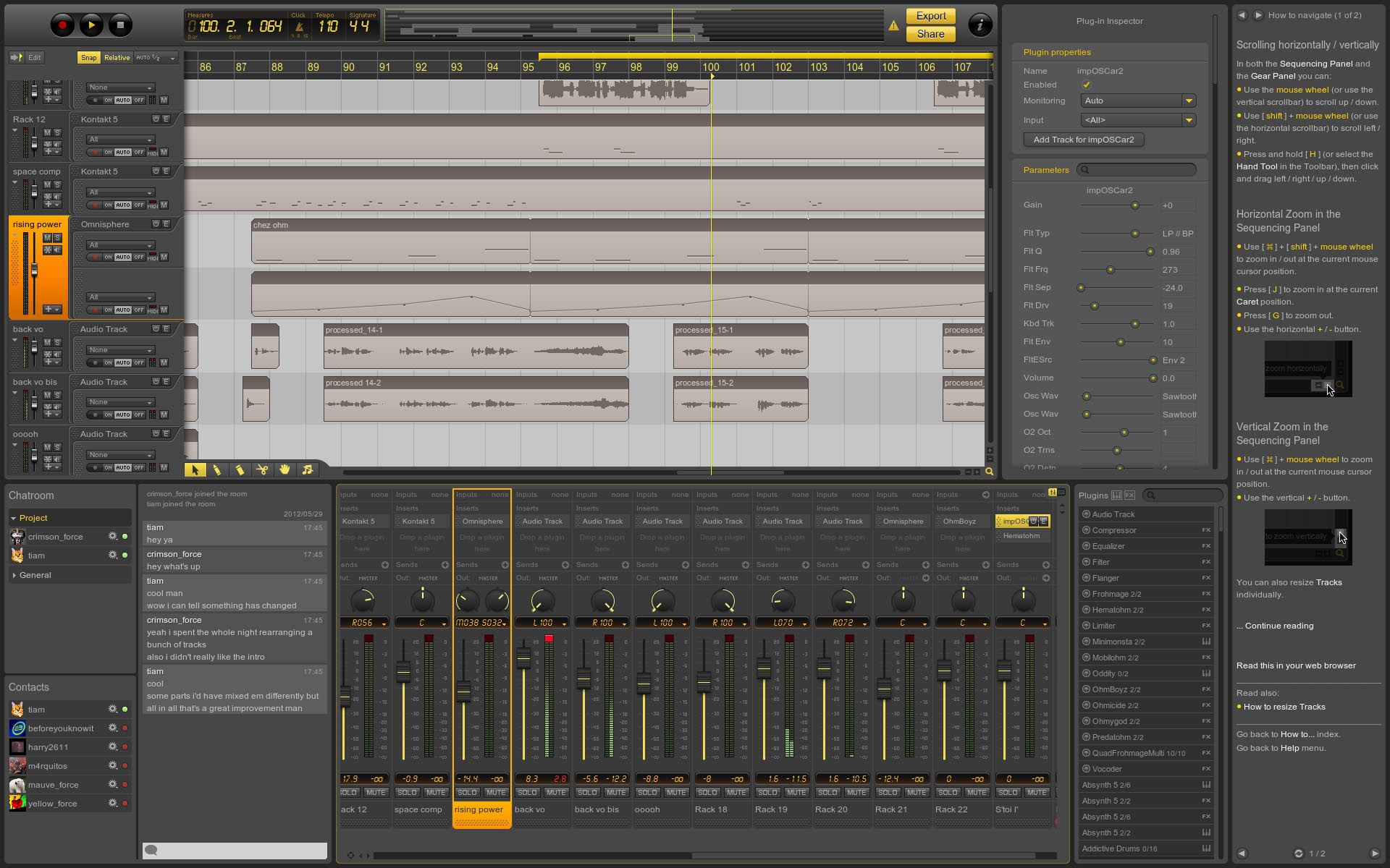 Ohm Studio Revision 74965 Beta
