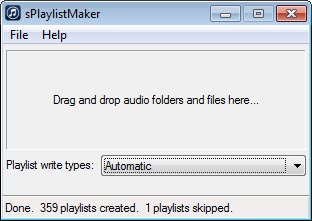 sPlaylistMaker 1.0.6