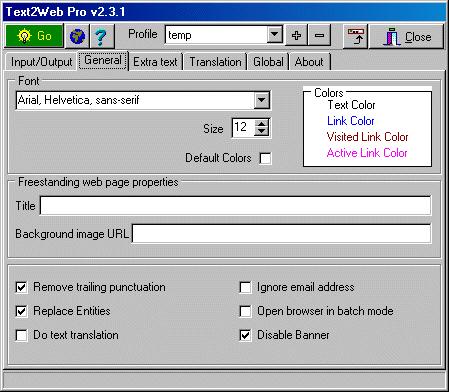Text2Web Pro 2.3.1