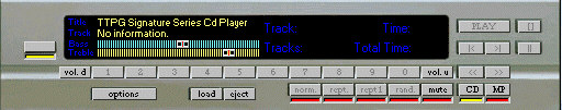 TTPG CD MP3 Player