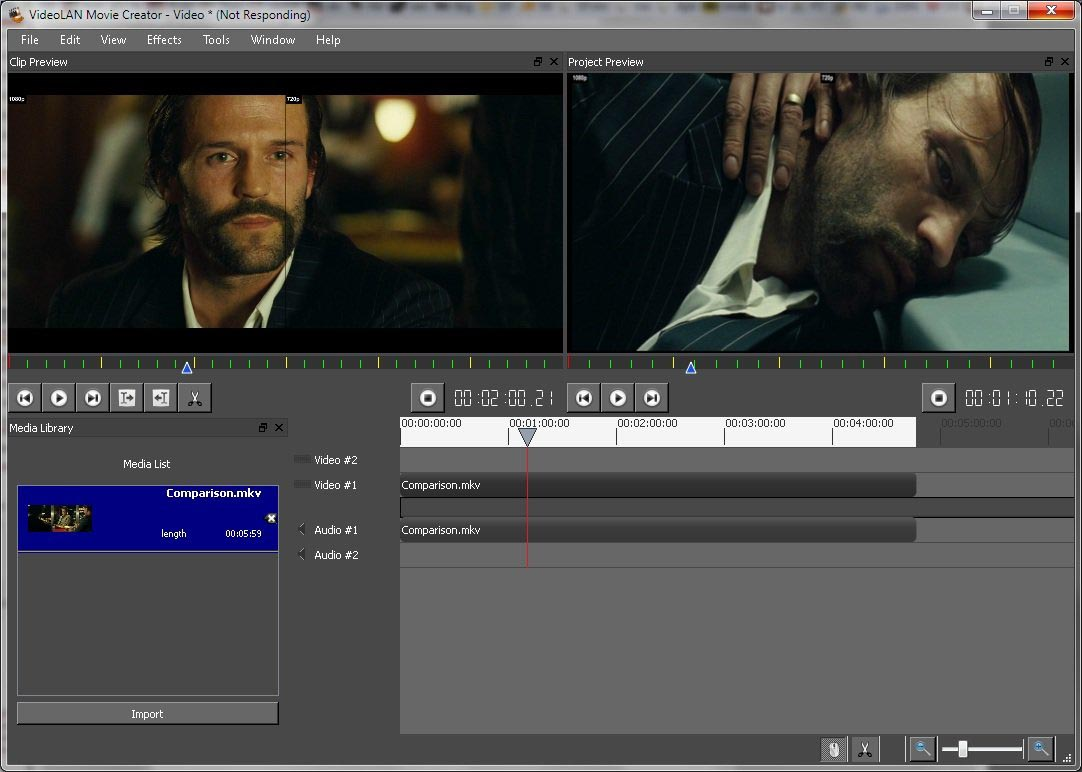 VideoLAN Movie Creator 0.2.0 Beta