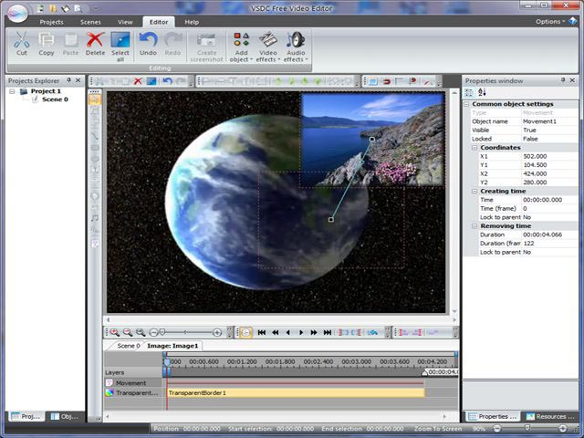 VSDC Free Video Editor 2.3.0.337