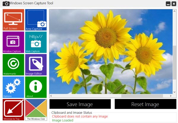 Windows Screen Capture Tool 1.0