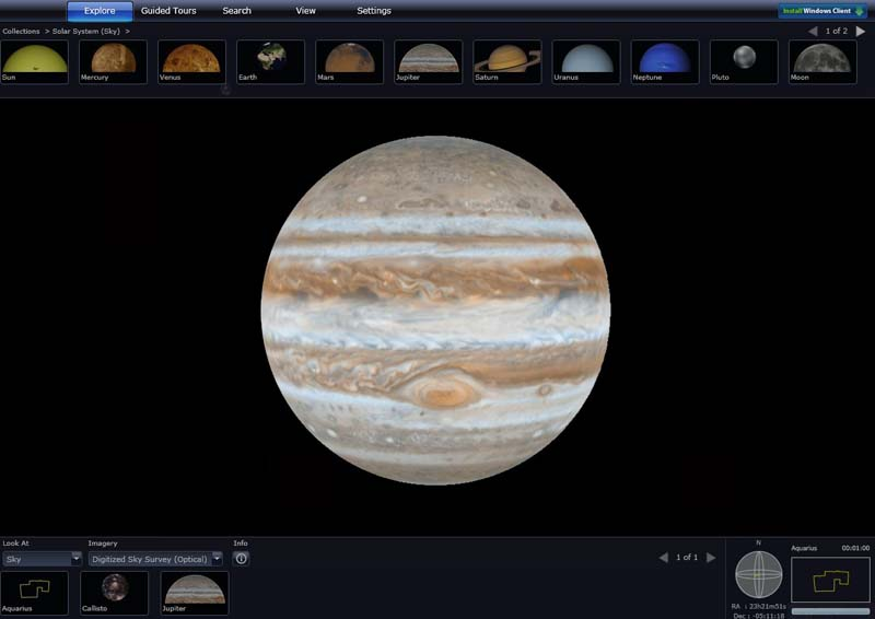 WorldWide Telescope 2.7.12.1